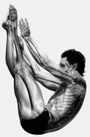 stretching banho